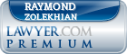 Raymond Jacob Zolekhian  Lawyer Badge