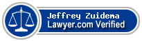 Jeffrey Alan Zuidema  Lawyer Badge