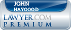 John Thomas Haygood  Lawyer Badge