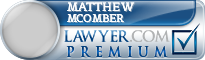 Matthew Martin Mcomber  Lawyer Badge