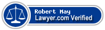 Robert Steven May  Lawyer Badge