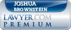 Joshua Sebastian Brownstein  Lawyer Badge