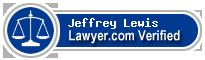 Jeffrey Greg Lewis  Lawyer Badge