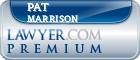 Pat Marrison  Lawyer Badge