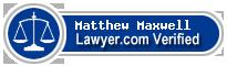 Matthew Chase Maxwell  Lawyer Badge