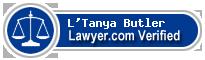 L'Tanya Matilde Butler  Lawyer Badge