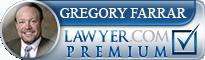 Gregory Paul Farrar  Lawyer Badge