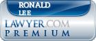 Ronald Dean Lee  Lawyer Badge