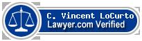 C. Vincent LoCurto  Lawyer Badge