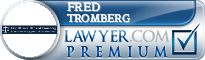 Fred Tromberg  Lawyer Badge