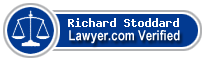 Richard C. Stoddard  Lawyer Badge