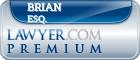 Brian Szilvasy Esq.  Lawyer Badge