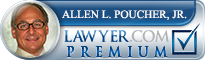 Allen Louis Poucher  Lawyer Badge
