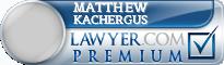 Matthew R. Kachergus  Lawyer Badge