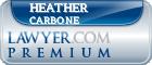 Heather Byrer Carbone  Lawyer Badge