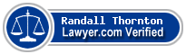Randall Norman Thornton  Lawyer Badge