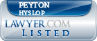 Peyton Hyslop Lawyer Badge