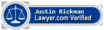 Justin Rickman  Lawyer Badge