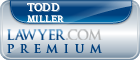 Todd Benjamin Miller  Lawyer Badge