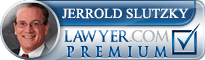 Jerrold Edward Slutzky  Lawyer Badge