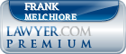 Frank B. Melchiore  Lawyer Badge