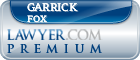 Garrick Neal Fox  Lawyer Badge