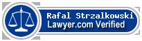 Rafal Strzalkowski  Lawyer Badge
