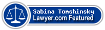 Sabina Tomshinsky  Lawyer Badge