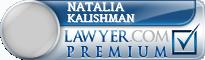 Natalia Pavlovna Kalishman  Lawyer Badge
