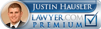 Justin G. Hausler  Lawyer Badge