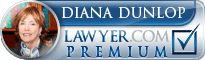 Diana Knowles Dunlop  Lawyer Badge