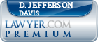 D. Jefferson Davis  Lawyer Badge