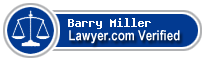 Barry Louis Miller  Lawyer Badge