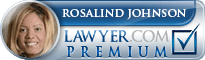 Rosalind Burnetta Johnson  Lawyer Badge