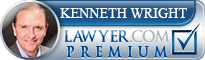 Kenneth Carl Wright  Lawyer Badge