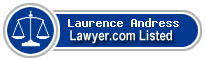 Laurence Andress Lawyer Badge