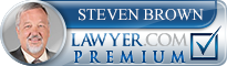 Steven Craig Brown  Lawyer Badge