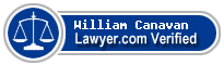 William Thomas Canavan  Lawyer Badge