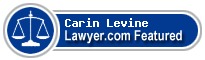 Carin Levine  Lawyer Badge