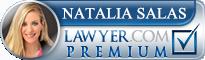 Natalia Salas  Lawyer Badge