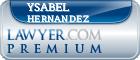 Ysabel Maria Hernandez  Lawyer Badge