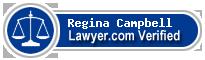 Regina M. Campbell  Lawyer Badge