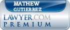 Mathew Daniel Gutierrez  Lawyer Badge