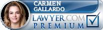 Carmen Gallardo  Lawyer Badge
