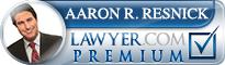 Aaron Rene Resnick  Lawyer Badge