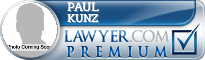 Paul B. Kunz  Lawyer Badge