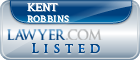 Kent Robbins Lawyer Badge