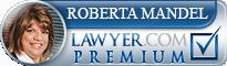 Roberta Goodman Mandel  Lawyer Badge