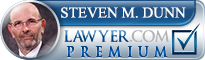 Steven Michael Dunn  Lawyer Badge