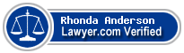Rhonda Anne Anderson  Lawyer Badge